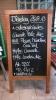 Hinweisschild zum Cascade Pale Ale