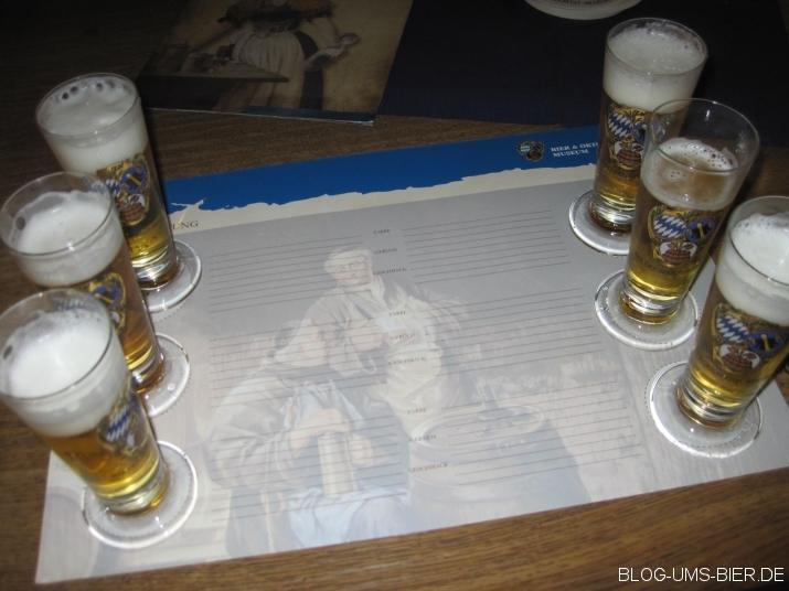 Verkostung der Münchener Oktoberfestbiere