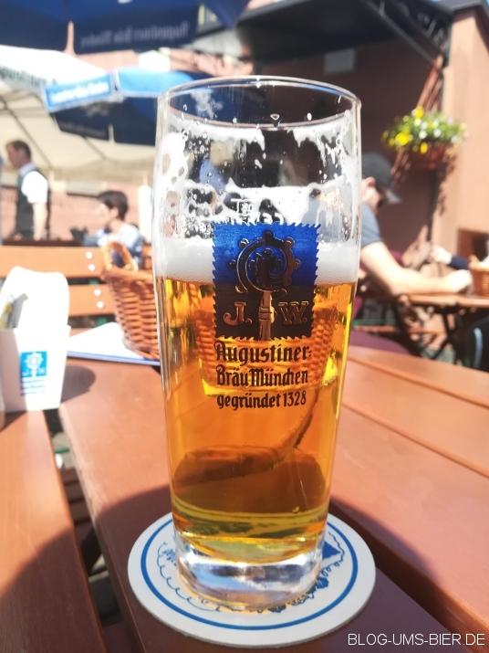 2019 - Heller Bock in der Augustiner Brauerei