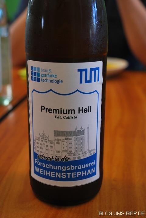 """""""Callista"""" Probe der Forschungsbrauerei TUM"""