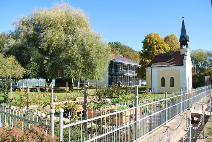 Marienkapelle Hüll - auf dem Gelände des Hopfenforschungszentrums